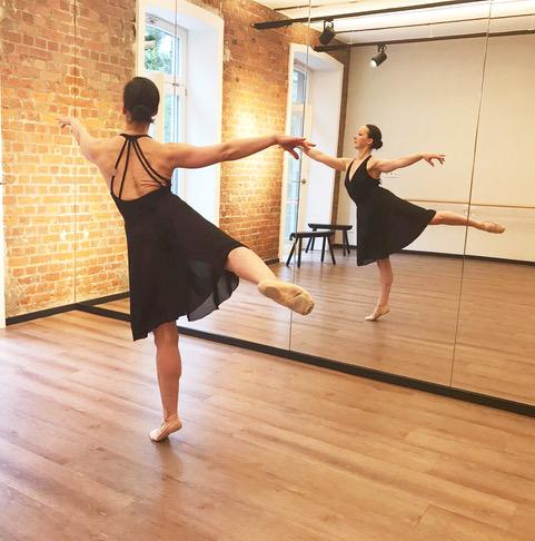 Tanzlehrerin Brigitte