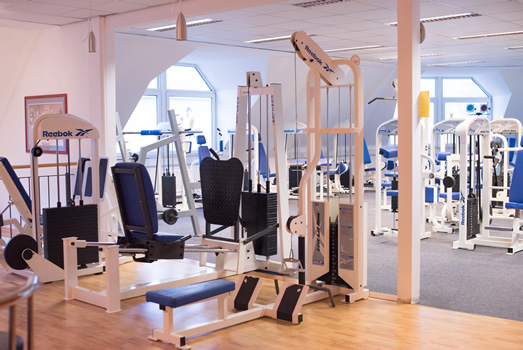 Fitnessraum Lady-Fit Hamburg